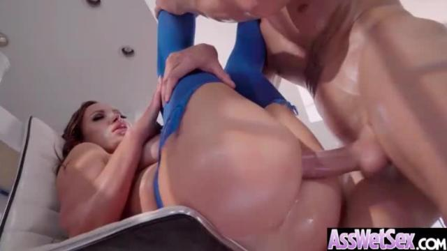 (nikki benz) huge ass oiled sexy girl enjoy anal sex video-25