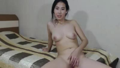 Slut nude playing with her little shaved pussy show