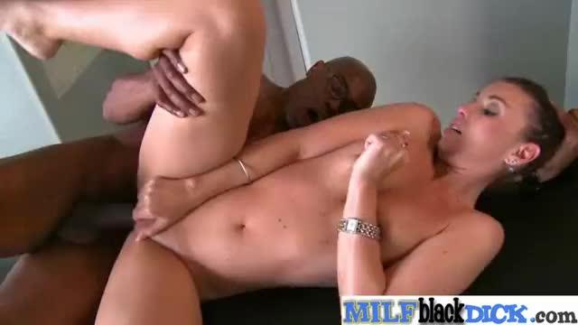 Interracial sex tape with black huge dick in gorgeous mature lady (honey white) clip-16
